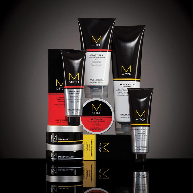 Por Paul Mitchell ofrece productos de aseo de los hombres de alto rendimiento que pueden manejar cualquier situación con estilo.